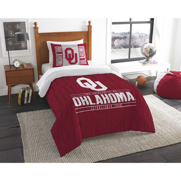 The Northwest Co COL 862 Oklahoma Modern Take Twin 2-piece Comforter Set