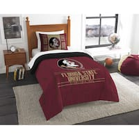 The Northwest Co COL Forida State Modern Take Red Twin 2-piece Comforter Set