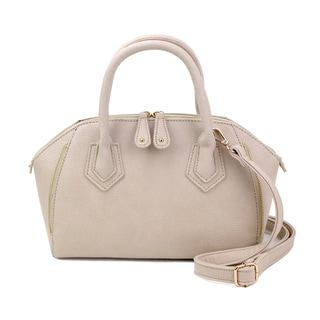 Olivia Miller Nola Faux Leather Structured Mini Satchel Handbag