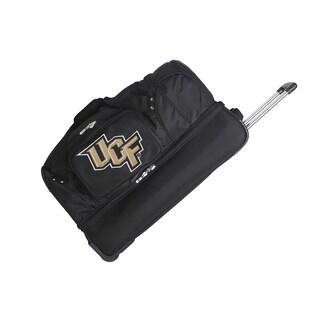 Denco Central Florida Black Rolling Duffel Bag