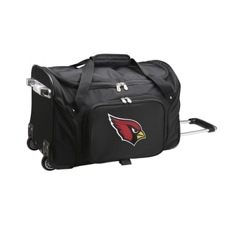 Denco Sports Arizona Cardinals 22-inch Carry-on Rolling Duffel Bag