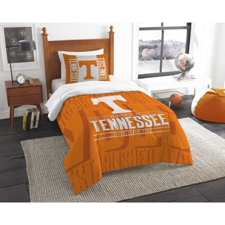 The Northwest Company COL Tennessee Modern Take Orange Twin 2-piece Comforter Set