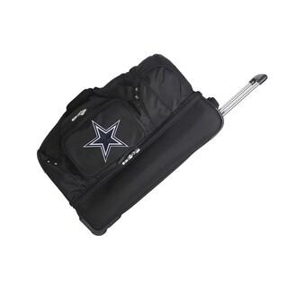 Denco Sports Dallas Cowboys 27-inch Drop Bottom Rolling Duffel Bag