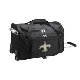 Denco Sports New Orleans Saints 22-inch Carry-on Rolling Duffel Bag