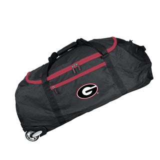 Deco Sports Mojo Georgia Black Ballistic Nylon 36-inch Collapsible Duffel Bag