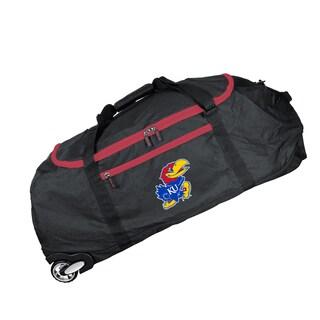 Denco Mojo Kansas Black Nylon 36-inch Collapsible Duffel Bag