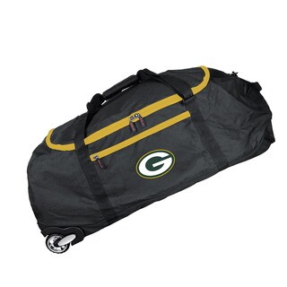 Denco Sports Mojo Green Bay Packers 36-inch Collapsible Duffel Bag