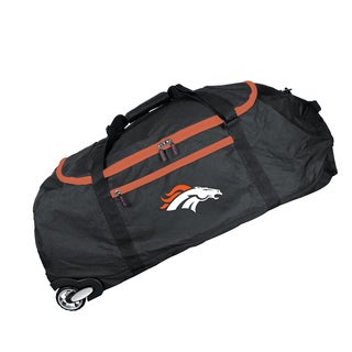 Denco Sports Mojo Denver Broncos 36-inch Collapsible Duffel Bag