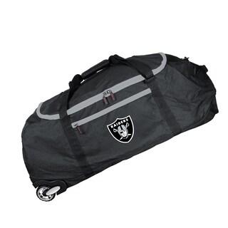 Denco Sports Mojo Oakland Raiders 36-inch Collapsible Duffel Bag