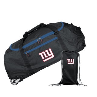 Denco Sports Mojo New York Giants 36-inch Collapsible Duffel Bag