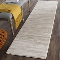 "Safavieh Vision Contemporary Tonal Cream Area Rug - 2'2"" x 12'  Runner"