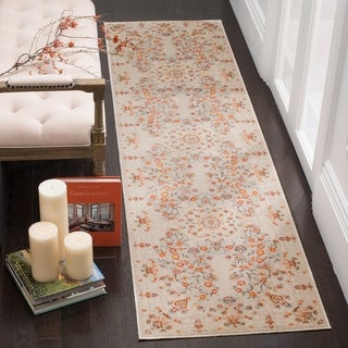 Safavieh Vintage Persian Floral Multicolored Silky Polyester Runner (2' 2 x 12')