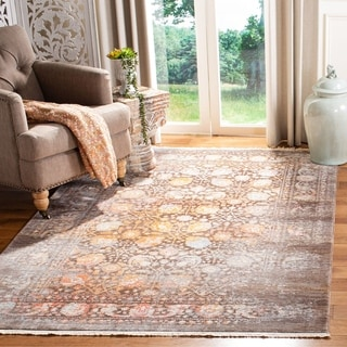 Safavieh Vintage Persian Brown/ Multi Distressed Runner Rug (2' 2 x 10')