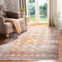 Safavieh Vintage Persian Brown/ Multi Distressed Runner Rug - 2' 2 x 10'