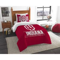 The Northwest Co COL Indiana Modern Take Twin Red 2-piece Comforter Set