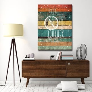 Ready2HangArt Ernest Hemingway - Journey by Olivia Rose Canvas Art