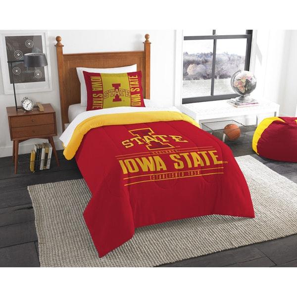 The Northwest Company Iowa State Twin 2-piece Comforter Set