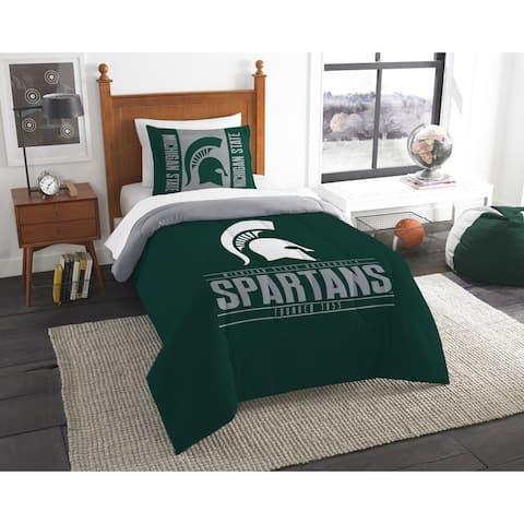 The Northwest Company Michigan State Twin 2-piece Comforter Set