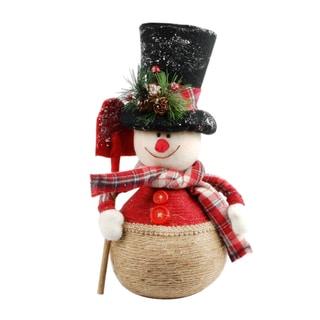 14-inch High Christmas Decorative Snowman