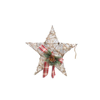 23-inch LED Hanging Star Wall Decor