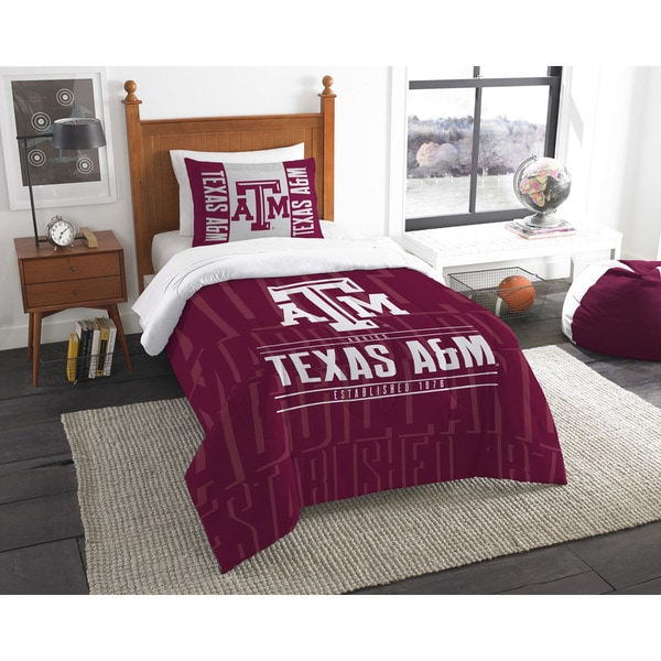 The Northwest Company Texas A and M Twin 2-piece Comforter Set