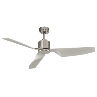 Kichler Lighting Sorrento Collection 50-inch Brushed Stainless Steel Ceiling Fan - Silver