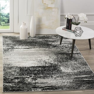Safavieh Adirondack Modern Abstract Silver/ Multicolored Rug (4' Square)