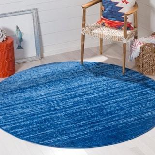 3d Shaggy 805 Abstract Swirl Blue Area Rug 5 X 7