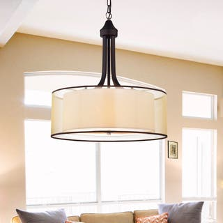 Buy Bronze Finish Ceiling Lights Online At Overstock Com