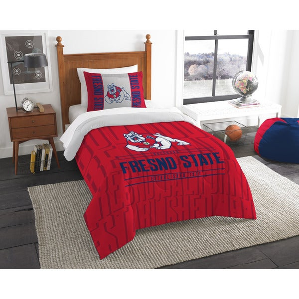 The Northwest Company Fresno State Twin 2-piece Comforter Set