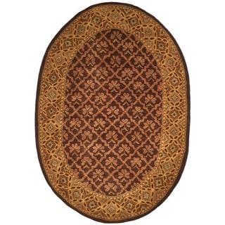 Safavieh Classic Traditional Handmade Assorted Wool Rug (2' 3 x 4' Oval)