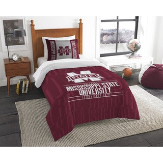 The Northwest Company Mississippi State Twin 2-piece Comforter Set