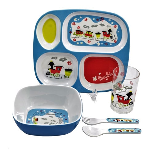 Gaia Group World of Mary Blair Multicolor Melamine 5-piece Childrenu0026#x27;s  sc 1 st  Overstock.com & Gaia Group World of Mary Blair Multicolor Melamine 5-piece ...