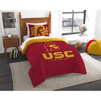 The Northwest Company COL USC Modern Take Red/Yellow Twin 2-piece Comforter Set