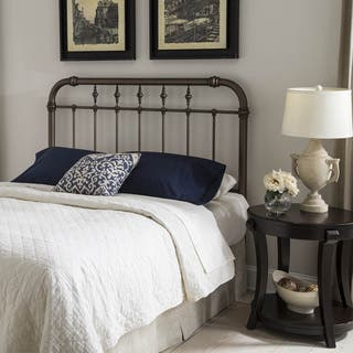 Vienna Headboard with Metal Spindle Panel and Carved Finials|https://ak1.ostkcdn.com/images/products/13311125/P20017993.jpg?impolicy=medium