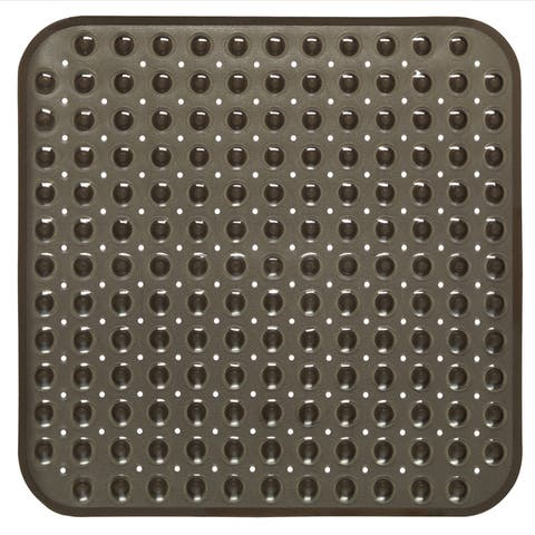 Vinyl Stall Shower Mat in Assorted Colors (21 x 21)
