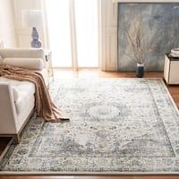 Safavieh Evoke Vintage Oriental Grey / Gold Distressed Rug (6' 7 Square)