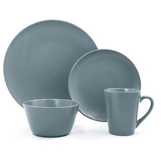 Veneto Blue Ceramic 16-piece Dinnerware Set