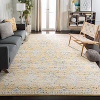 Safavieh Evoke Vintage Gold/ Ivory Distressed Rug - 6' 7 Square