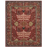 Safavieh Antiquity Traditional Handmade Red/ Multi Wool Rug - 4' x 6'
