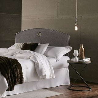 Fashion Bed Group Barrington Metal Headboard in Silver Bisque
