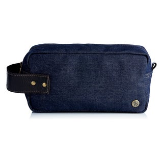 Handmade Urban Denim Toiletry Bag (Colombia)