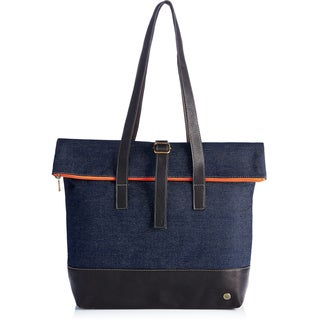 Handmade Urban Denim Shoulder Bag (Colombia)