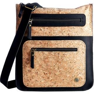 Handmade Cork and Vegan Small Crossbody Bag (Colombia)