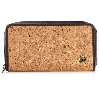 Handmade Cork and Vegan Zipper Wallet (Colombia)