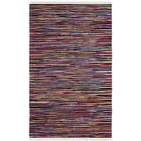 Safavieh Hand-Woven Rag Cotton Rug Multicolored Cotton Rug (3' x 5')