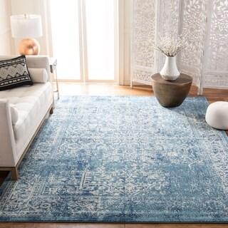 Safavieh Evoke Vintage Oriental Blue/ Ivory Rug (9' Square)
