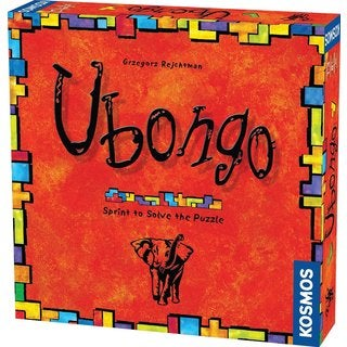 Thames and Kosmos Ubongo Sprint to Solve the Puzzle Game