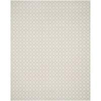 Safavieh Hand-Woven Kilim Flatweave Grey/ Ivory Cotton Rug - 8' x 10'