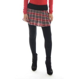 Dinamit Plaid Cotton Skirt